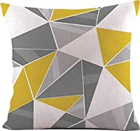 モダン ジオメトリック柄 クッションカバー 45×45cm 全8種 幾何学模様 北欧 インテリア 雑貨 (Type A) [並行輸入品]