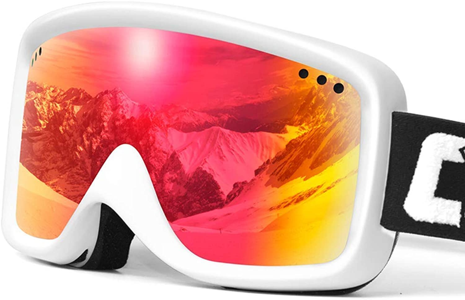 Ski Goggles Sports Glasses Glasses HD Double-Layer Anti-Fog And Anti-UV Outdoor Large Frame Ski GlassesJBP32