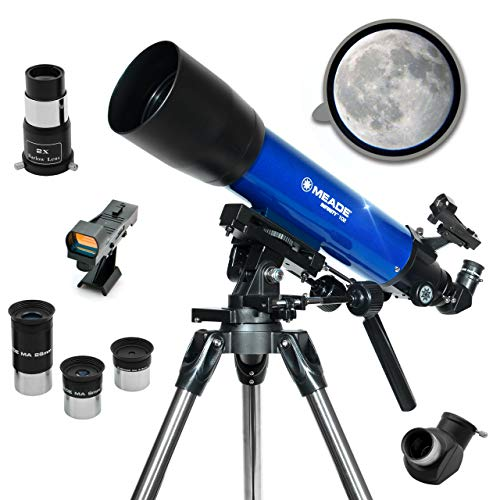 Meade is a good beginner telescope