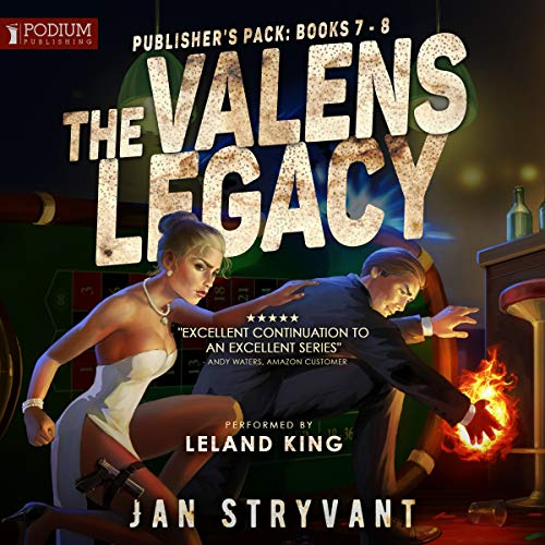 The Valens Legacy: Publisher's Pack 4 audiobook cover art