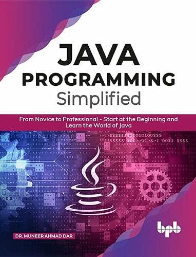 JAVA Programming Simplified: JAVA Programming Simplified (English Edition)