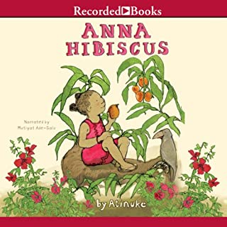 Anna Hibiscus audiobook cover art