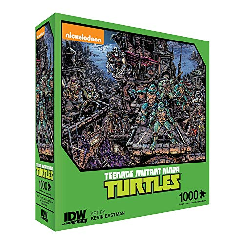 1000 piece puzzle ninja turtles - 1
