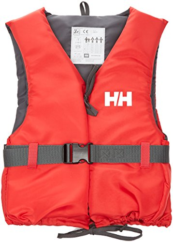 Helly Hansen Sport II Gilet de sauvetage Mixte Enfant, Rouge/Ebène, 30/40
