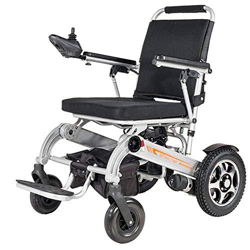 ACEDA Elektrischer Rollstuhl, Intelligente Automatische Elektrorollstuhl,19.8Kg Aluminiumlegierung Faltbar Tragbare,Kann 150 KG Unterstützen,Sitzbreite 45Cm