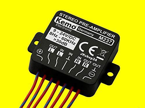 Kemo M237 Stereo-Verstärker 24 V/DC