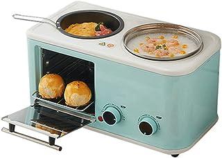 Mini Horno, 3 En 1 De Los Hogares Desayuno Pan Tostadora Horno De Cocción De Tortilla Sartén Olla Caliente De La Caldera De Alimentos