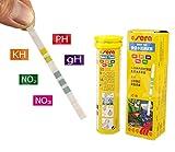 Sera 5en 1Fácil de tiras de prueba Kit de prueba de pH GH KH No2No3Acuario Fish Tank Agua Kit De Prueba