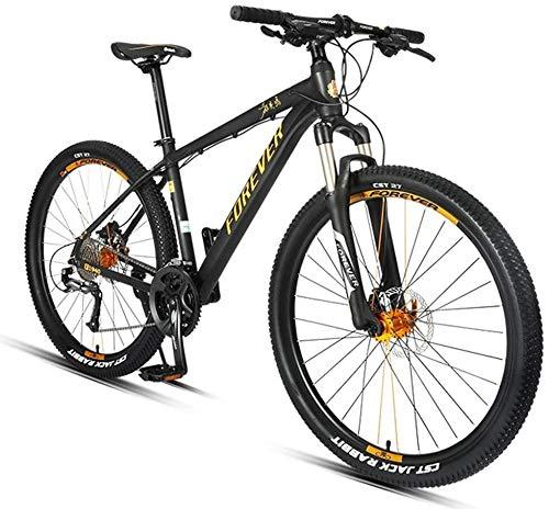 Syxfckc 27,5 Pulgadas de Bicicleta de montaña, Bicicleta de montaña de la Velocidad de Adultos esclareol 27, Marco de Aluminio, Todas Las Bicicletas de montaña Terreno, Asiento Regulable