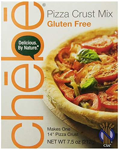 Chebe Bread Pizza Crust Mix, Gluten Free, 7.5-Ounce Box (Pack of 8)