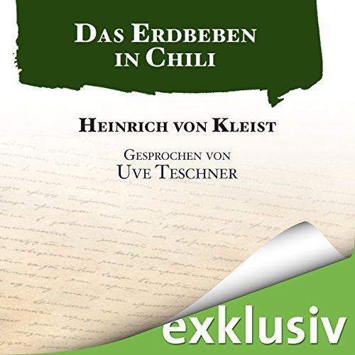 Das Erdbeben in Chili audiobook cover art