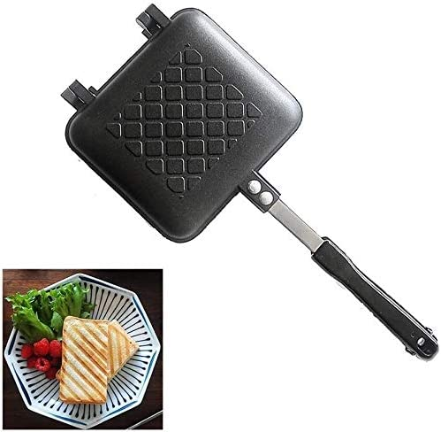 Toaster Sandwich Camping Frying Grill Alum Pan Super intense SALE Bombing free shipping Striped