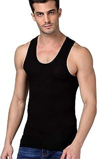 [ユリカー] メンズ タンクトップ インナーシャツ 綿100% 3枚組セット 無地 肌着 消臭 抗菌