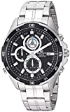 Casio Men's Edifice Quartz Stainless-Steel Strap, Two Tone, 22 Casual Watch (Model: EFR-547D-1AVUEF)
