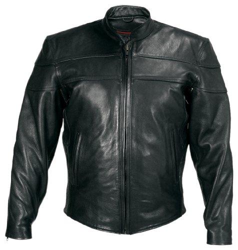 Big Sale Milwaukee Motorcycle Clothing Company Motorcycle Maverick Jacket (Black, XX-Large)