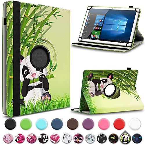 UC-Express Tasche kompatibel für Jay-tech Tablet PC TXE10DS TXE10DW TXTE10D TXE10DW2 Hülle Schutzhülle Case Cover 360° Drehbar Standfunktion, Farben:Motiv 12