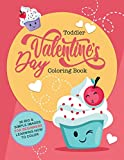 Toddler Valentine's Day Coloring Book: 30 Big & Simple Images For Beginners Learning How To Color,...