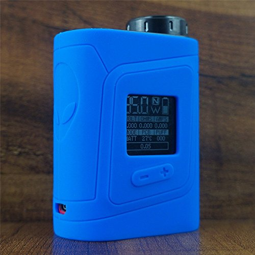 ModShield for SMOK AL85 Baby Alien 85W TC Silicone Case ByJojo Cover Sleeve Skin Wrap Case (Blue)