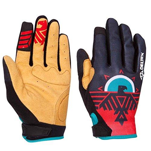 Celtek Men's Kingdom Cycling Gloves, Bjorn, Large