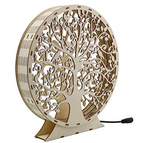 Ambientelicht Baum des Lebens LED Beleuchtet Holz | Lebensbaum | Dekoration | Tischdeko | Designlampe