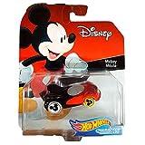 Hot Wheels GDW04 Disney Character Car - Coche de Mickey Mouse (escala 1:64)