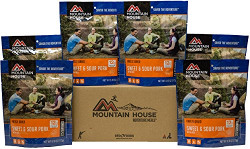 Mountain House Sweet & Sour Pork with Rice 6-Pack