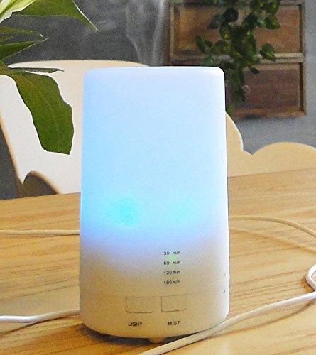 KITCHEN TOOLS De aromaterapia Ultrasonido Mini Humidificador de Aire Dormitorio Lámpara de Aceite Esencial Colorido LED luz de Noche,Luces Coloridas