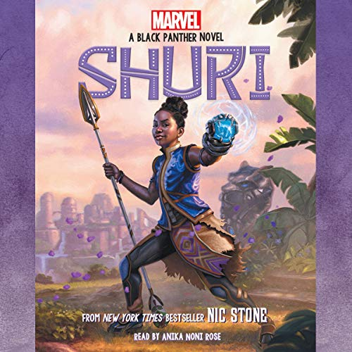 Shuri audiobook cover art