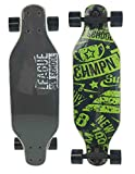RT10 Playride-808657, Skateboard de aprendizaje, 808657 Longboard 27' de madera , color/modelo surtido