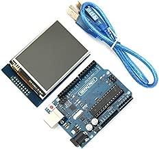 Geekcreit UNO R3 ATmega328P Board & 2.8 Inch TFT Touch Display Module For Arduino