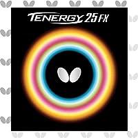 バタフライ(Butterfly) 卓球 ラバー テナジー・25・FX 裏ソフト テンション (スピン) 05910 ブラック 中