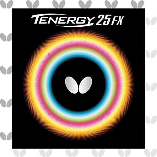 Why Choose Butterfly 2.1 Tenergy 25 FX Rubber, Black