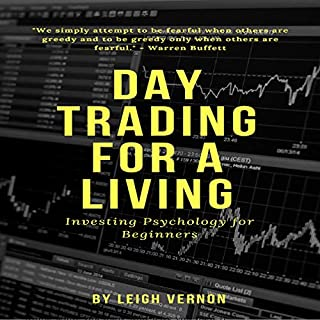 Day Trading for a Living: Investing Psychology for Beginners cover art