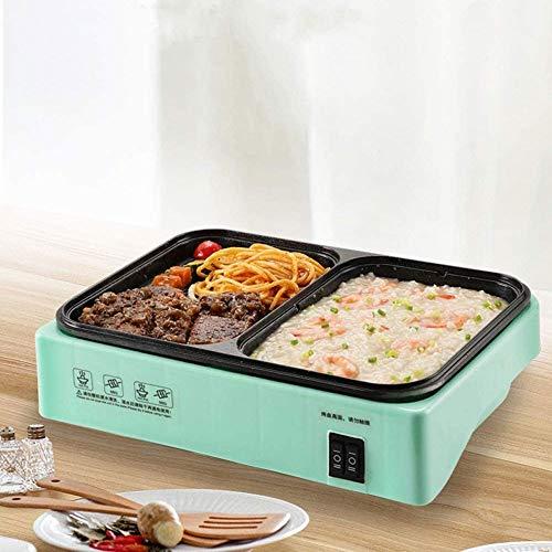51BlxQexD5L. SL500  - SKREOJF Multifunktionale Korean Rauchfreie Schlaf, gegrilltes Hot Pot, Barbecue, EIN Topf, Haushaltselektrogrill, Backautomaten