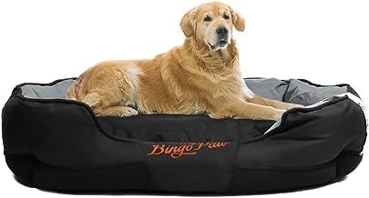 WISFORBEST Cama Cómoda para Perros Colchoneta Grande para Mascotas Cama Impermeable con Cojín Desmontable Suave Sofá para Perros Gatos (XL 105 x 80 x 22cm)