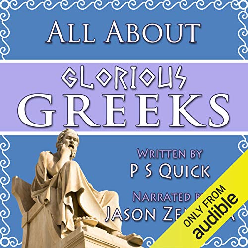 All About Glorious Greeks audiobook cover art
