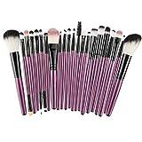 22 cepillo de ojos set de brochas de maquillaje herramientas de belleza