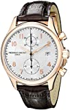 Frederique Constant Men's FC393RM5B4 Analog Swiss Automatic Brown Leather Watch