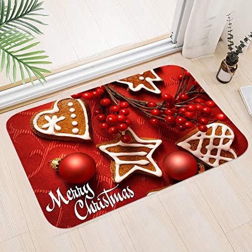Sunshine smile Weihnachtsteppich,Weihnachten Area Rug,Türmatte Weihnachten,Weihnachtsdekoration rutschfeste Badematte,Home Decor,für Wohnzimmer,Schlafsaal Küche,Schlafzimmer,weihnachtsdekoration