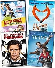 Jim Carrey Movies DVD 6-Film Collection - Ace Ventura: Pet Deteve Yctive/ Pet Detective JR/ When Nature Calls/ I Love You Phillip Morris/ Me, Myself & Irene/ Yes Man