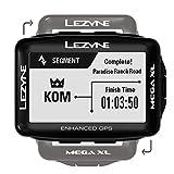 LEZYNE Mega XL Bicicleta Negro rastreador GPS - Rastreadores GPS (6,86 cm (2.7'), 35,3 x 58,8 mm, 240 x 400 Pixeles, Monocromo, 33,3 día(s), Recargable)