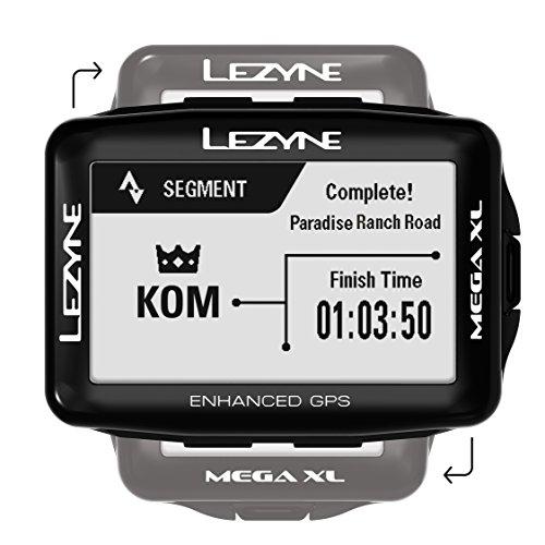 LEZYNE Mega XL GPS Bike Computer, Black