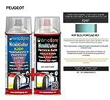 Kit Retouche Voiture KHP BLEU FORCLAZ MET. - Bombe de peinture Couleur originale du...