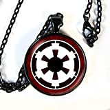 Star Wars inspired GALACTIC EMPIRE necklace - Sith, Jedi - HM
