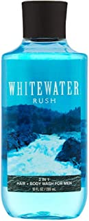Bath & Body Works, Signature Collection 2-in-1 Hair & Body Wash, Whitewater Rush For Men, 10 Ounce