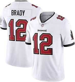 Camiseta De Rugby Masculino, Tampa Bay Buccaneers, Tom Brady Nº 12, Ropa De Entrenamiento De Rugby, Fútbol Americano Ropa De Deporte