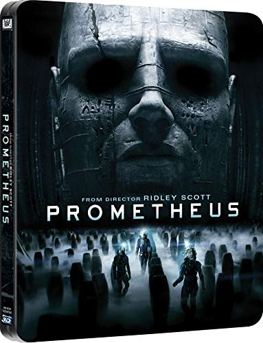 Prometheus 3D - STEELBOOK Metal Case Limited Edition - 3 Blu-ray + 1 DVD