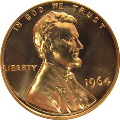 1964 P Gem Proof Lincoln Memorial Cent US Coin Penny
