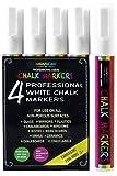 Colorful Art - Rotuladores de tiza de color blanco y...