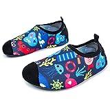 L-RUN Wasser Sport Haut Schuhe Aqua Socken zum Schwimmen, Laufen, Surfen, Yoga Übungen Sea World